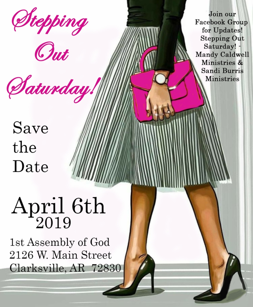 Save the Date! – Sandi Burris Ministries